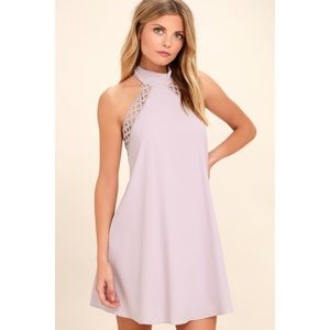 Lulus Any Sway, Shape, or Form Halter Dress